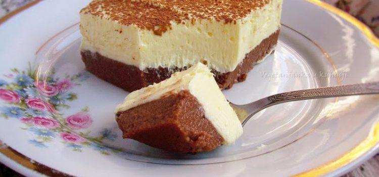 Recept za kolače koji se ne peku: Sočne griz kocke sa vanila kremom