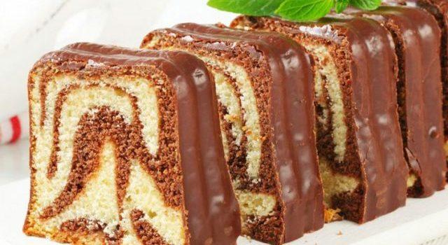 Mramorni kolač – domaći recept bez korištenja vage