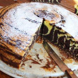 Zebra kolač.(Recept)